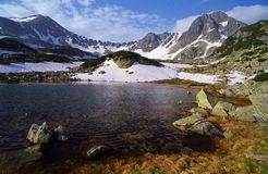 Lago Pietrele Fotografia Stock