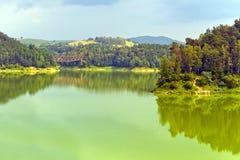 Lago Pilchowice Fotografie Stock