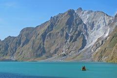 Lago Pinatubo Fotografia de Stock Royalty Free