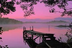 Lago pintoresco Imágenes de archivo libres de regalías