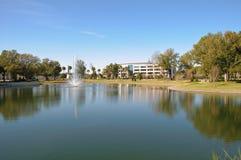 Lago pintoresco Foto de archivo libre de regalías