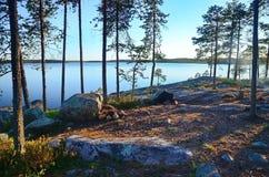 Lago Pista Imagen de archivo