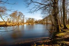 Lago Pitfour fotografia stock