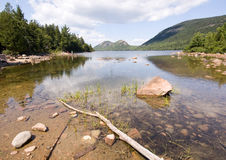 Lago pitoresco Imagem de Stock Royalty Free