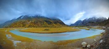 Lago plateau Immagine Stock