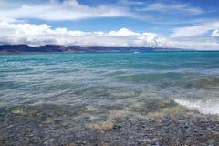 Lago plateau Fotografia Stock