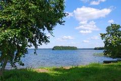 Lago Plateliai, Lithuania imagem de stock
