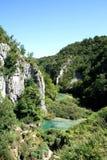 Lago Plitvice Imagen de archivo