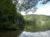 Lago Plitvice in Croazia Immagini Stock Libere da Diritti