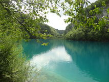 Lago Plitvice in Croazia Immagini Stock