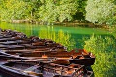 Lago Plitvicke Foto de archivo