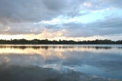 Lago polacco Fotografia Stock Libera da Diritti