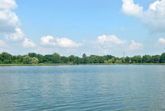 Lago polacco Immagini Stock