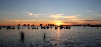 Lago Pontchartrain fotografía de archivo libre de regalías