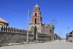 Lago Popo, Bolivie Photos libres de droits