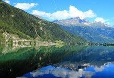 Lago Poschiavo Fotografie Stock