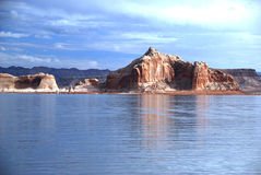 Lago Powell foto de stock royalty free
