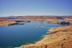 Lago Powell Fotografie Stock