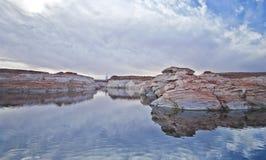 Lago Powell Arizona Fotografia Stock