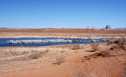 Lago Powell, Arizona, S.U.A. Fotografia Stock Libera da Diritti
