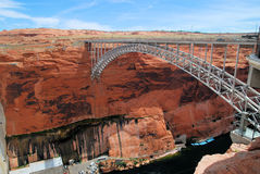Lago Powell Bridge Imagem de Stock Royalty Free