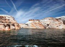 Lago Powell da acqua Immagini Stock Libere da Diritti