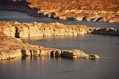 Lago Powell Landscape Fotografía de archivo