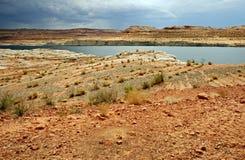 Lago Powell Landscape Foto de archivo