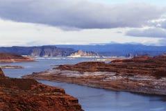 Lago Powell no Arizona fotografia de stock royalty free