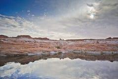 Lago Powell o Arizona Fotografia de Stock Royalty Free