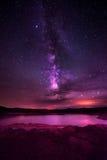 Lago Powell Utah milky Way Immagine Stock