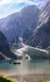 Lago Prags Fotografía de archivo