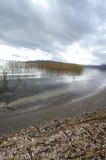 Lago Prespa Fotografia Stock Libera da Diritti