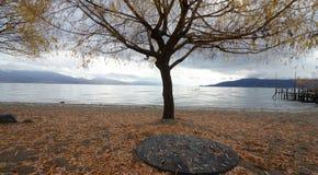 Lago Prespa Fotografia Stock