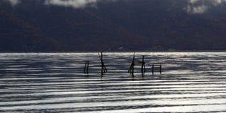 Lago Prespa Immagini Stock Libere da Diritti