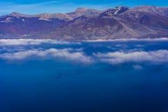 Lago Prespa en Grecia fotografía de archivo libre de regalías