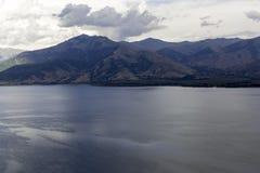 Lago Prespa en Grecia foto de archivo libre de regalías