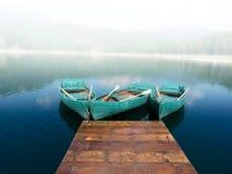 Lago preto Fotos de Stock