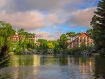 Lago preto Fotos de Stock Royalty Free