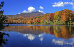 Lago price, Ridge Parkway blu, Nord Carolina immagini stock
