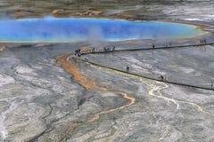 Lago Prismatic grande Imagens de Stock Royalty Free