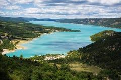 Lago Provencial Fotografie Stock