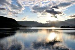 Lago in Prozor, Bosnia-Erzegovina Immagini Stock Libere da Diritti