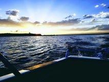 Lago pueblo fotografia de stock