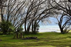 Lago Puelo, Αργεντινή Στοκ Φωτογραφία