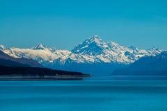 Lago Pukaki immagini stock libere da diritti