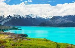 Lago Pukaki Fotos de Stock Royalty Free