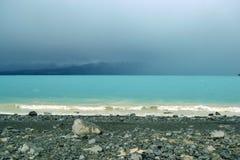 Lago Pukaki Fotos de archivo libres de regalías