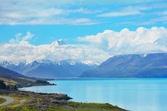 Lago Pukaki Imagens de Stock Royalty Free