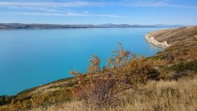 Lago Pukaki Imagem de Stock Royalty Free